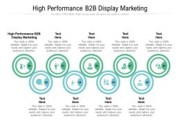 High Performance B2b Display Marketing Ppt Powerpoint Presentation Icon Display Cpb