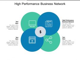 High Performance Business Network Ppt Powerpoint Presentation Gallery Slides Cpb