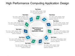 High Performance Computing Application Design Ppt Powerpoint Presentation File Graphics Download Cpb
