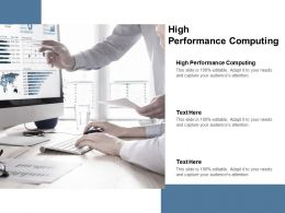 High Performance Computing Ppt Powerpoint Presentation Outline Infographic Cpb