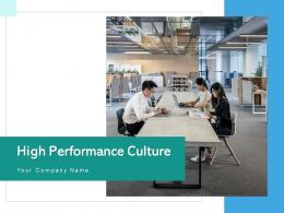 High Performance Culture Development Leadership Business Strategy Organizational Process