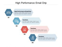 High Performance Email Drip Ppt Powerpoint Presentation File Gridlines Cpb