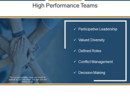 High Performance Teams Ppt Design
