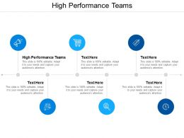 High Performance Teams Ppt Powerpoint Presentation Styles Templates Cpb