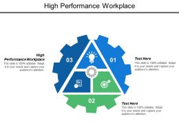 High Performance Workplace Ppt Powerpoint Presentation Model Sample Cpb