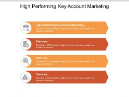 High Performing Key Account Marketing Ppt Powerpoint Presentation Infographics Portrait Cpb