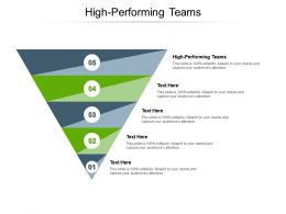 High Performing Teams Ppt Powerpoint Presentation File Slide Download Cpb