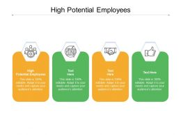 High Potential Employees Ppt Powerpoint Presentation Show Images Cpb