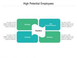 High Potential Employees Ppt Powerpoint Presentation Styles Backgrounds Cpb