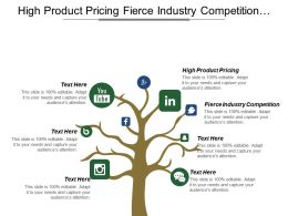 High Product Pricing Fierce Industry Competition Consumer Income