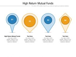 High Return Mutual Funds Ppt Powerpoint Presentation Model Background Cpb