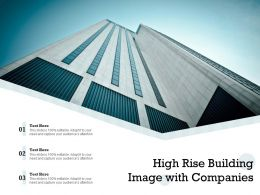 High Rise Building Image With Companies