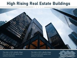 High Rising Real Estate Buildings
