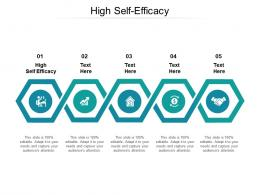 High Self Efficacy Ppt Powerpoint Presentation Professional Gridlines Cpb