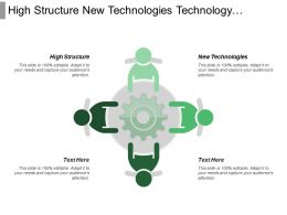 High Structure New Technologies Technology Development Innovation