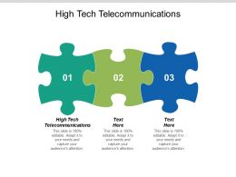 High Tech Telecommunications Ppt Powerpoint Presentation Icon Diagrams Cpb