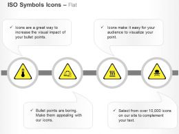 High Temperature Corrosive Hot Surface Toxic Ppt Icons Graphics