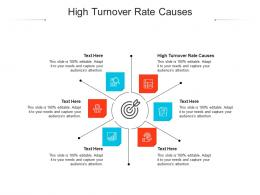 High Turnover Rate Causes Ppt Powerpoint Presentation Model Diagrams Cpb