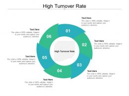 High Turnover Rate Ppt Powerpoint Presentation Layouts Deck Cpb