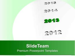 Highlights 2013 New Year PowerPoint Templates PPT Themes And Graphics 0113