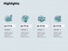 Highlights Gears Ppt Powerpoint Presentation Icon Styles