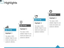 Highlights Ppt Background