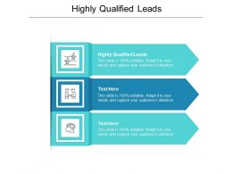 Highly Qualified Leads Ppt Powerpoint Presentation Ideas Pictures Cpb