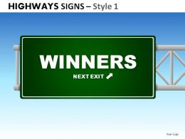 highway_signs_style_1_powerpoint_presentation_slides_Slide01