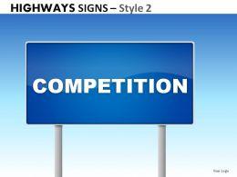 highway_signs_style_2_powerpoint_presentation_slides_Slide01