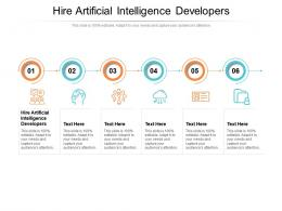Hire Artificial Intelligence Developers Ppt Powerpoint Presentation Pictures Icons Cpb