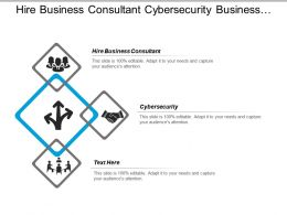 Hire Business Consultant Cybersecurity Business Meeting Planning System Cpb