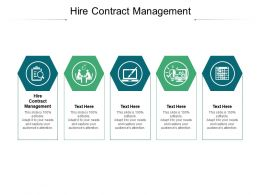 Hire Contract Management Ppt Powerpoint Presentation Model Microsoft Cpb