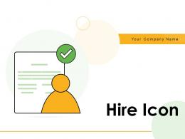 Hire Icon Agreement Service Dollar Appropriate Process