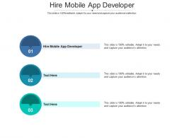 Hire Mobile App Developer Ppt Powerpoint Presentation Styles Examples Cpb