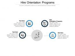 Hire Orientation Programs Ppt Powerpoint Presentation Slides Deck Cpb