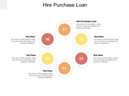 Hire Purchase Loan Ppt Powerpoint Presentation Infographic Template Mockup Cpb