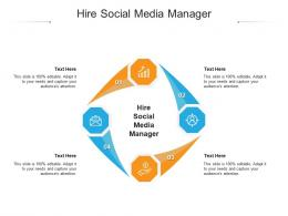 Hire Social Media Manager Ppt Powerpoint Presentation Styles Ideas Cpb