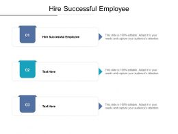 Hire Successful Employee Ppt Powerpoint Presentation File Examples Cpb