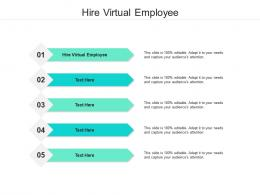 Hire Virtual Employee Ppt Powerpoint Presentation Layouts Example Cpb