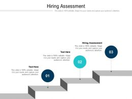 Hiring Assessment Ppt Powerpoint Presentation Icon Background Images Cpb