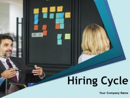 Hiring Cycle Powerpoint Presentation Slides