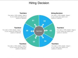 Hiring Decision Ppt Powerpoint Presentation Show Slides Cpb