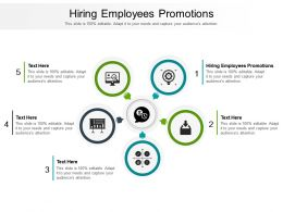 Hiring Employees Promotions Ppt Powerpoint Presentation Styles Slide Portrait Cpb