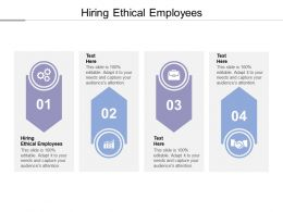 Hiring Ethical Employees Ppt Powerpoint Presentation Layouts Aids Cpb
