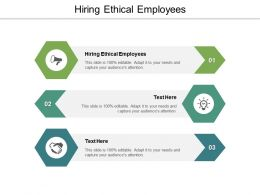 Hiring Ethical Employees Ppt Powerpoint Presentation Outline Slideshow Cpb