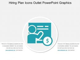 Hiring Plan Icons Outlet Powerpoint Graphics