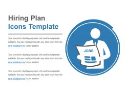Hiring Plan Icons Sample Powerpoint Guide