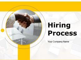 Hiring Process Powerpoint Presentation Slides