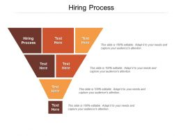 Hiring Process Ppt Powerpoint Presentation File Slide Portrait Cpb