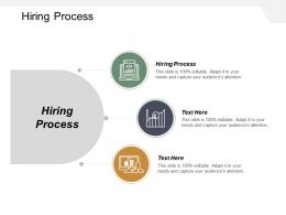 Hiring Process Ppt Powerpoint Presentation Gallery Inspiration Cpb